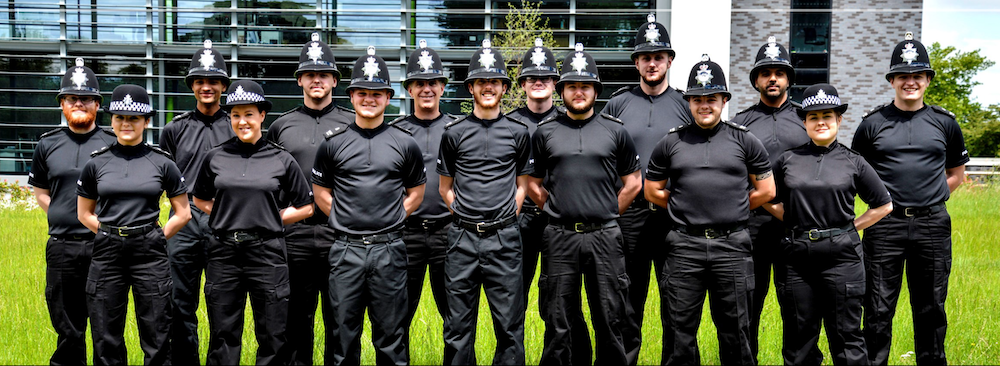 Derbyshire Constabulary Jobs | Careers Website | Blog | Police Officers in a Row Image.png