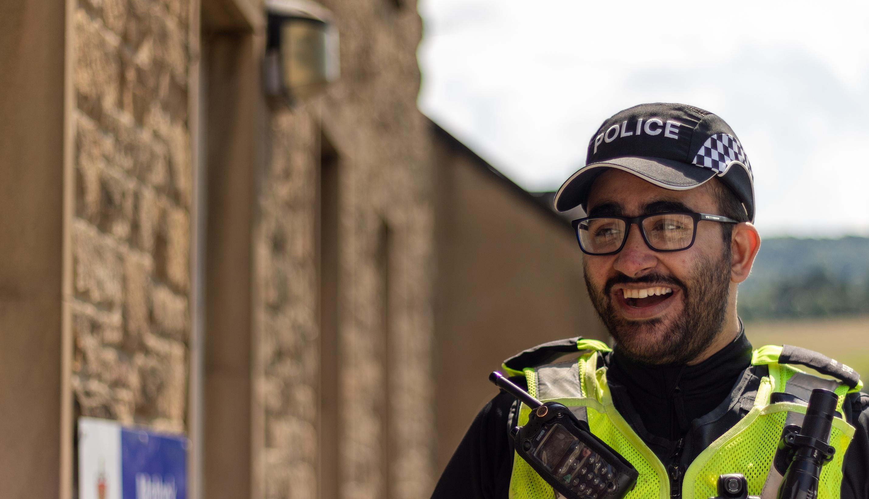 Officer Smiling